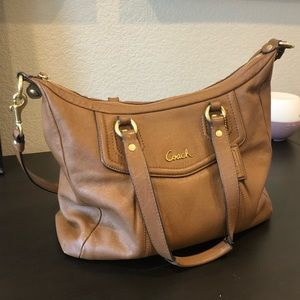 Coach leather Ashley Satchel